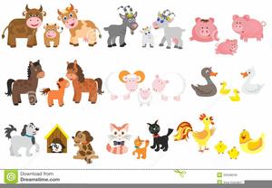Free Animated Farm Animal Clipart.