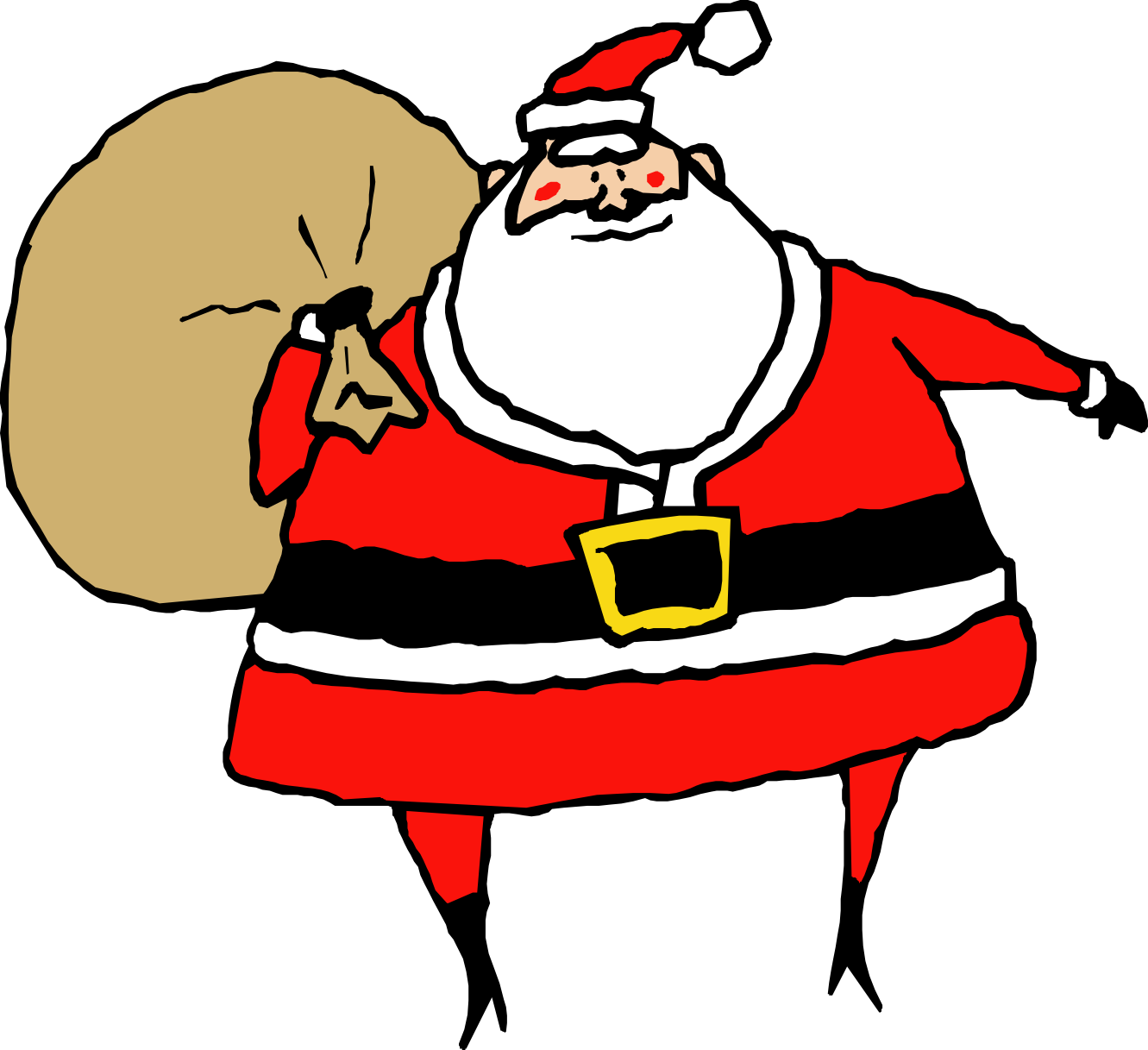 Free Animated Santa Claus Clipart, Download Free Clip Art.