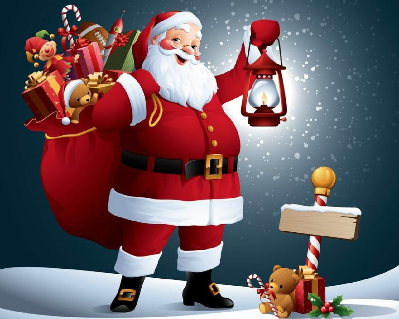Animated Santa Claus Images Free.