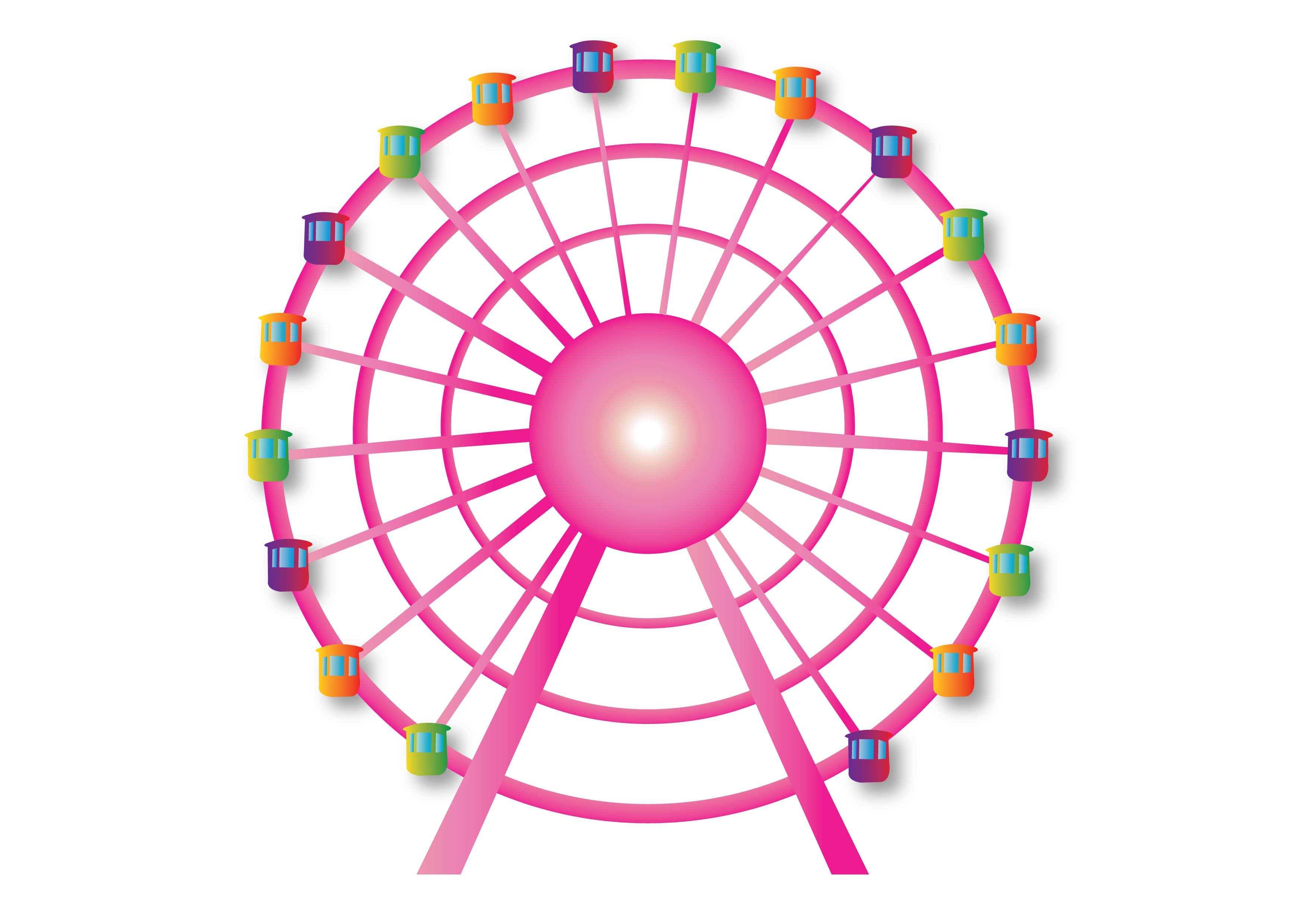 animated ferris wheel clipart - Clipground