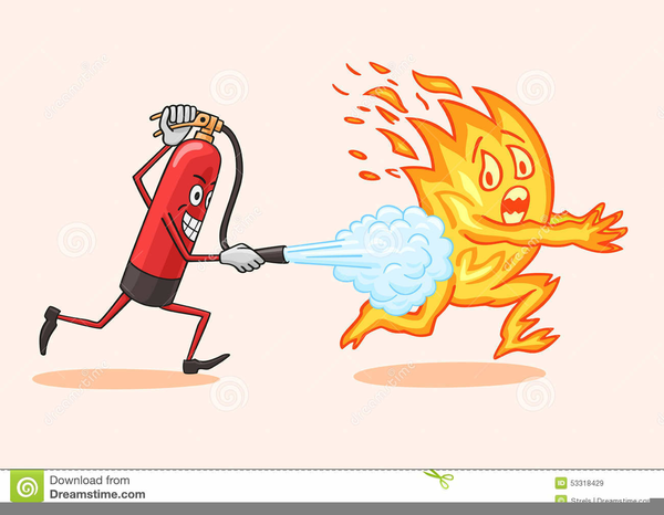 Animated Fire Extinguisher Clipart.