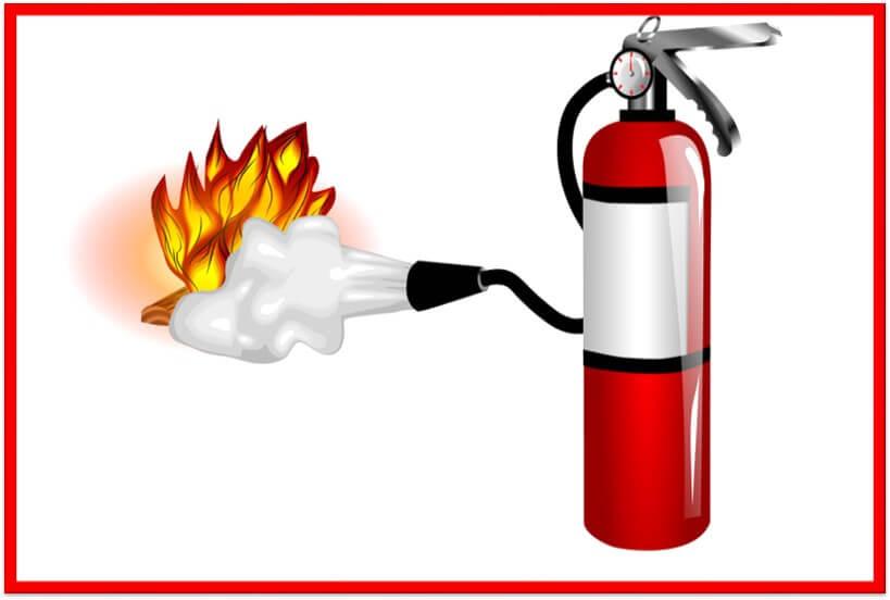 Fire Extinguisher Training.