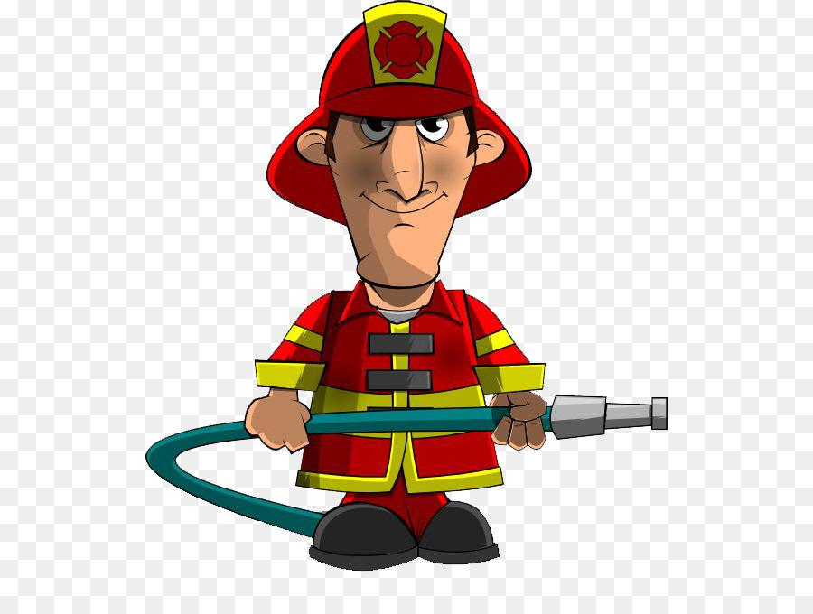 Firefighter Cartoon.