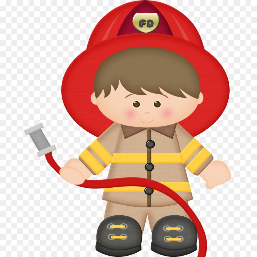 Firefighter Cartoon clipart.