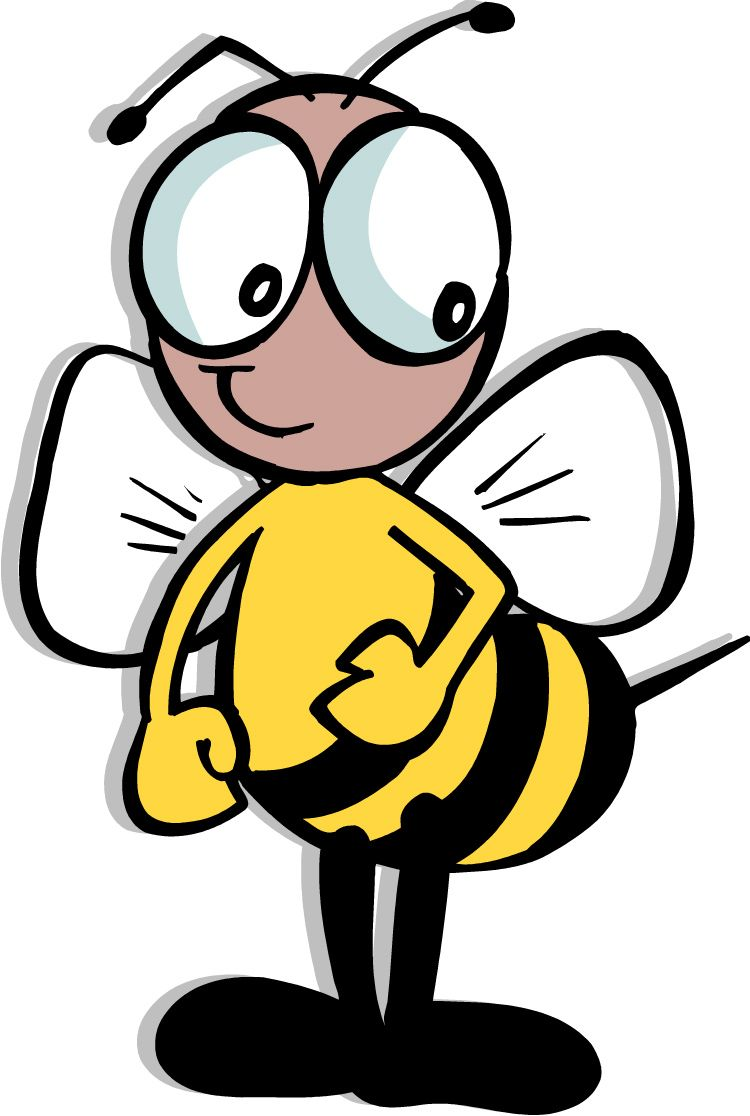 Bee clipart 5 animated bee clip art clipartcow 2.