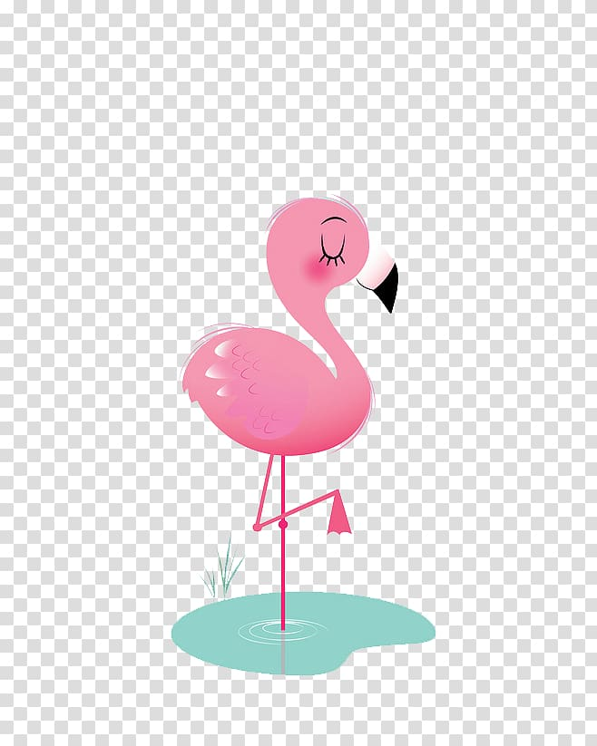 Bird Flamingos Animation Icon, Flamingos, pink flamingo.