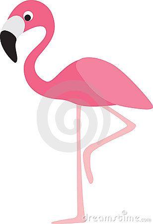 Flamingo Cartoon Royalty Free Stock Photos.
