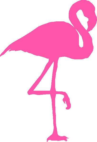 Flamingo Transparent PNG Clipart, Cute Flamingo, Pink.