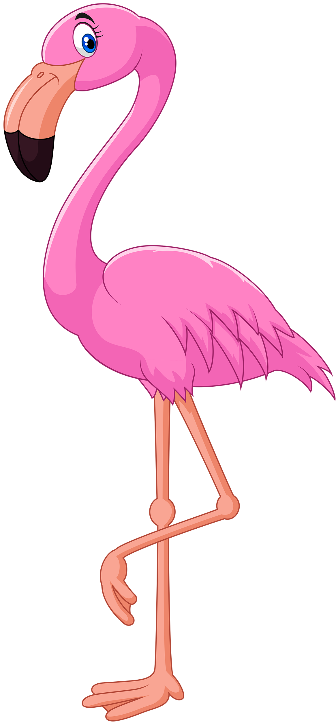 Free Pink Flamingo Cliparts, Download Free Clip Art, Free.