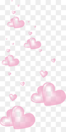 Floating Heart PNG.