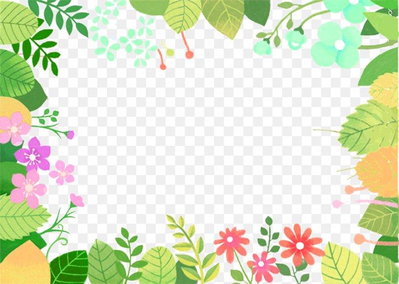 Floral Design Green Leaf Cartoon Animation, PNG, 900x641px.