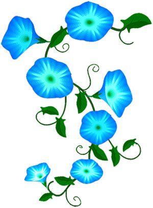 Flower Vines Clip Art.