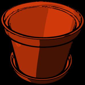 Empty Flowerpot Clip Art at Clker.com.