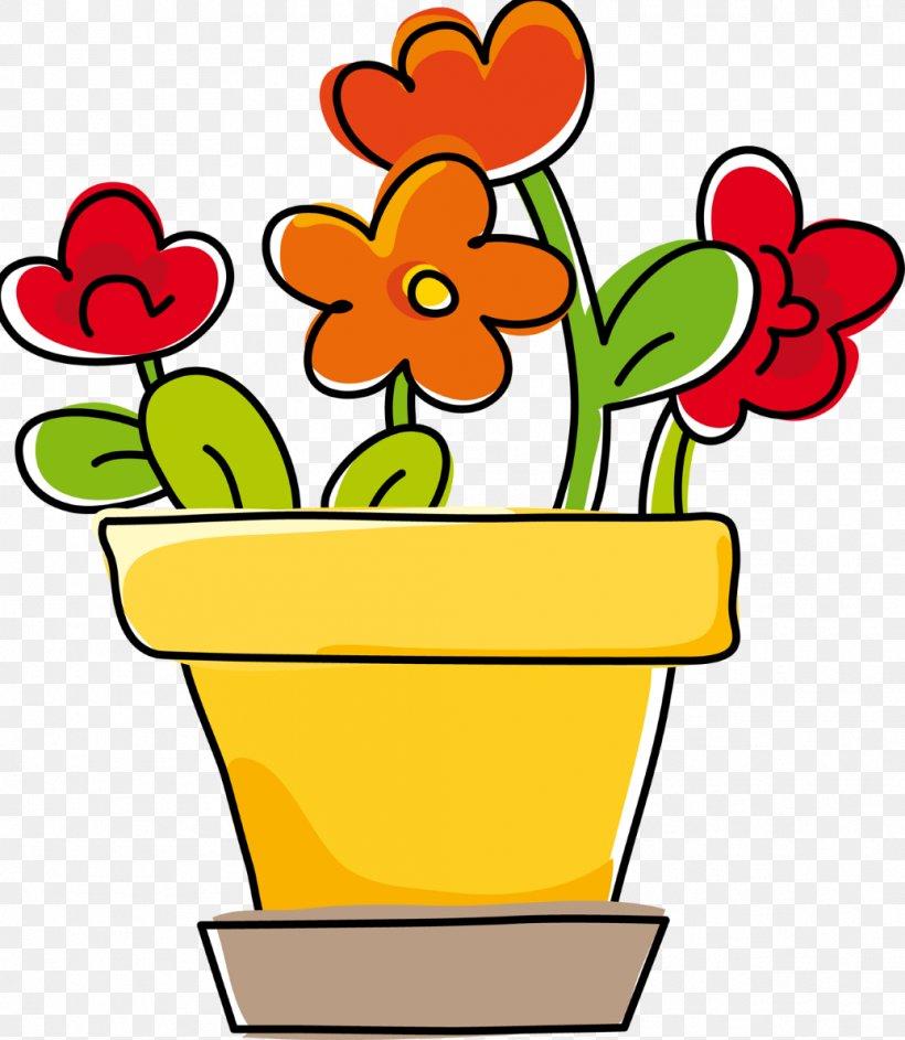 Floral Design Flowerpot Vase Drawing, PNG, 1036x1192px.