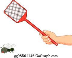 Fly Swatter Clip Art.