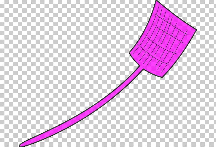 Fly Swatter Cartoon Pic.