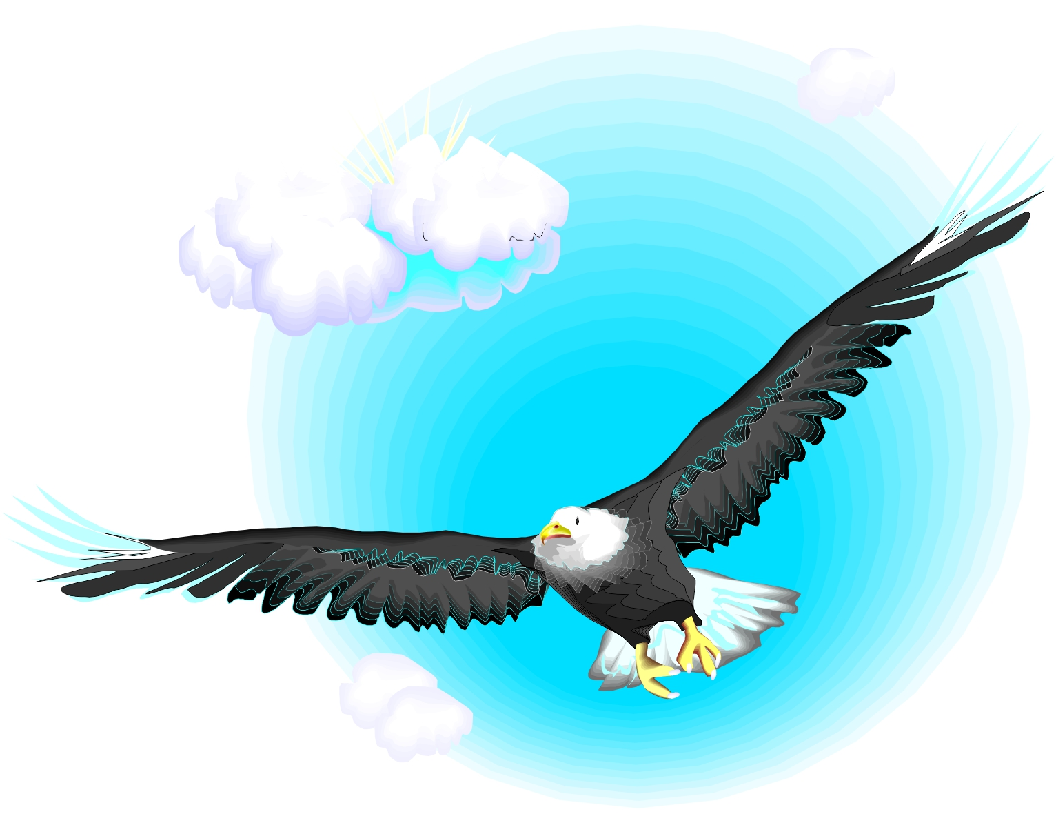 Free Cartoon Eagle Flying, Download Free Clip Art, Free Clip.