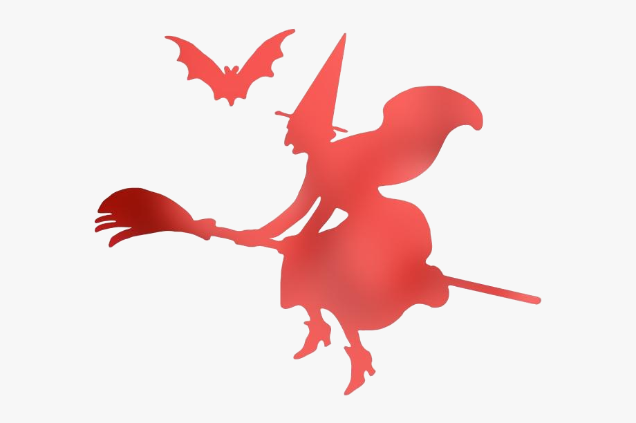 Transparent Animated Flying Witch Png Clipart Free.
