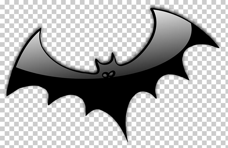 Bat Halloween Animation , Flying Witch Silhouette PNG.