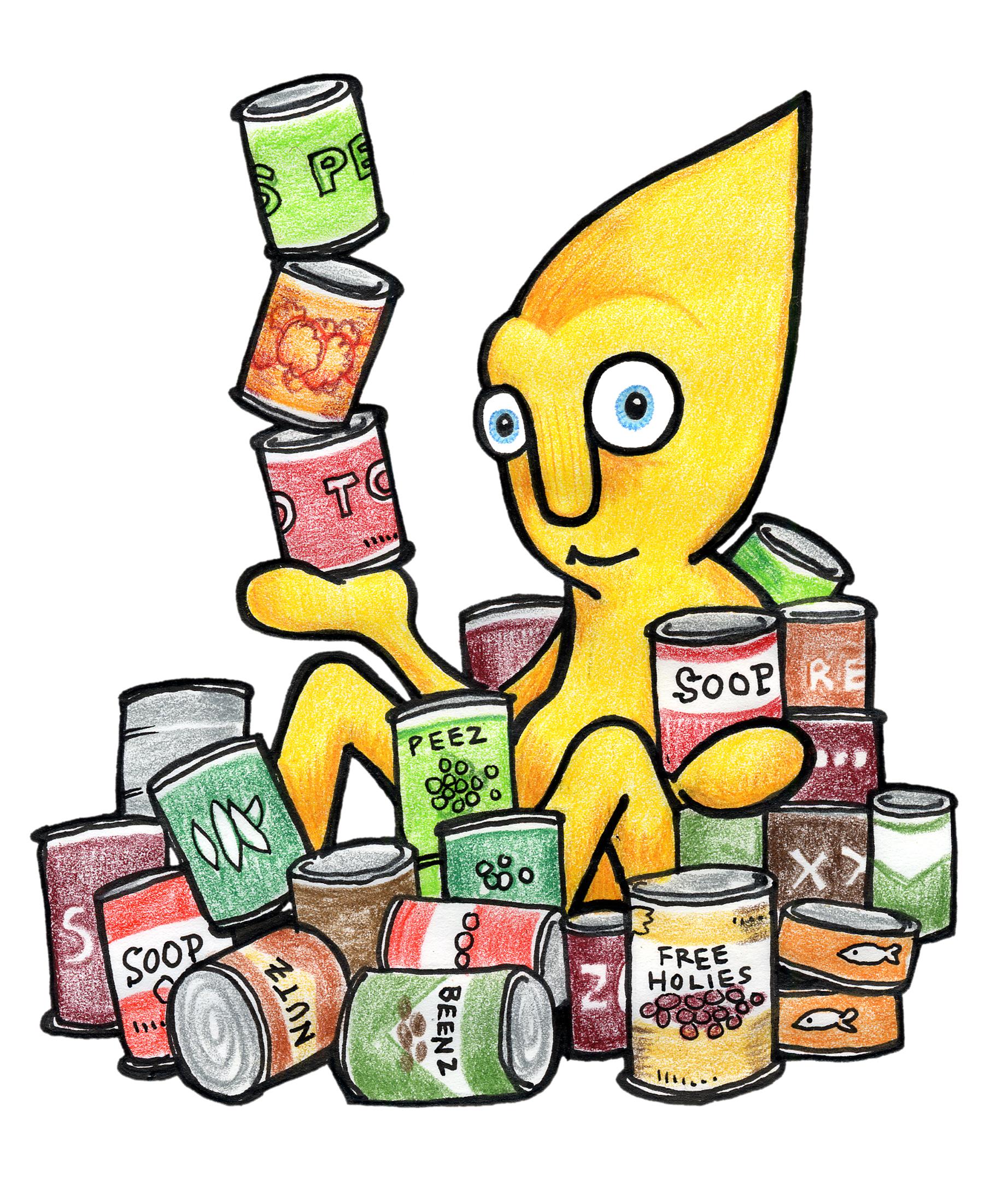 Best Food Drive Clip Art #11574.
