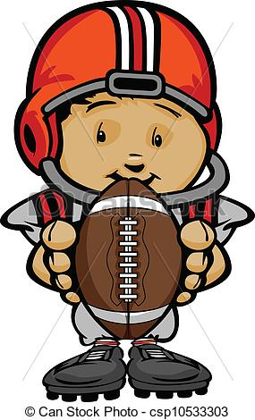 2300 Football Player free clipart.