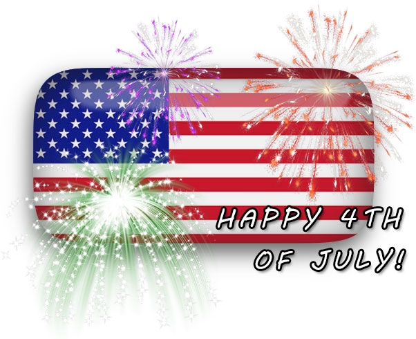 Free 4th Of July Graphics and 4th Of July Animations.