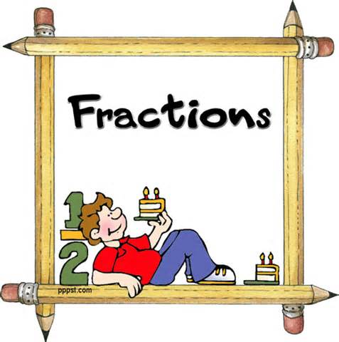 Fraction Animated Clipart.