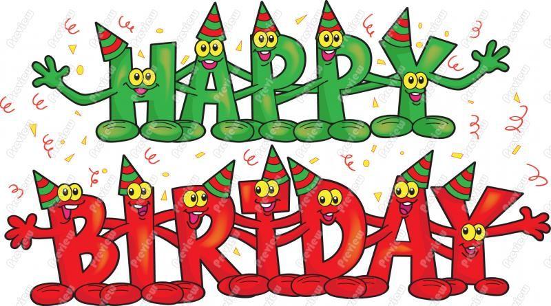 Free Animated Birthday Clip Art.