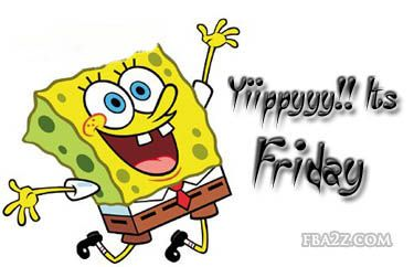 406 Happy Friday free clipart.