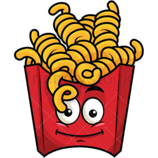 Curly Fries Clipart.