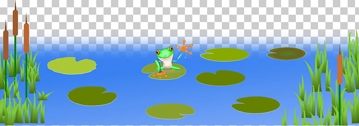 Frog Pond Amphibian , Big Frogs s PNG clipart.