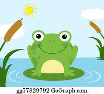 Frog Pond Clip Art.