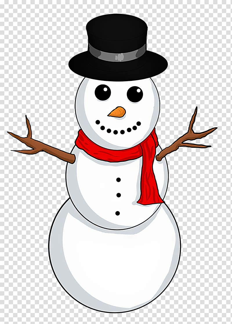 Frosty the Snowman , Snowman transparent background PNG clipart.