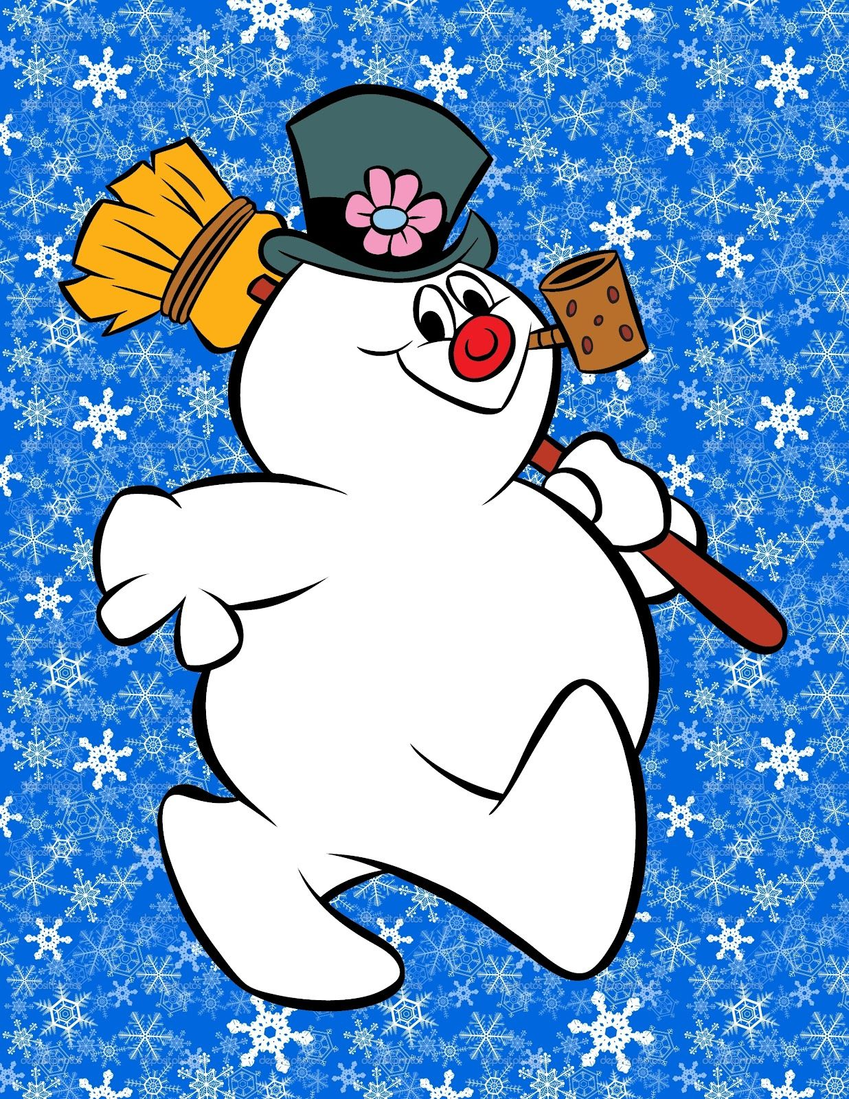 Frosty The Snowman <3 I looked forward for this classic on tv every.
