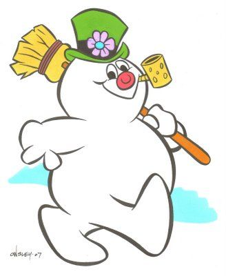 Frosty the Snowman. #DoYouRemember? #Nostalgia #Christmas.