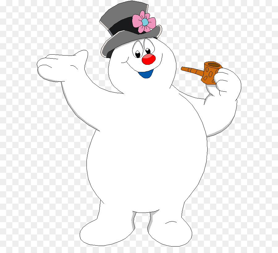 Snowman Christmas png download.