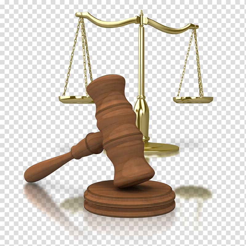 Brown gavel beside scale, Judge PowerPoint animation.