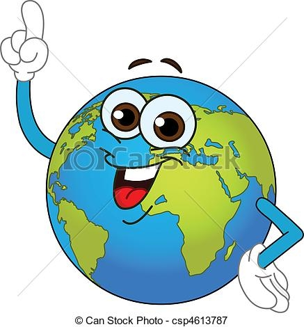 Animated Geography Clipart.