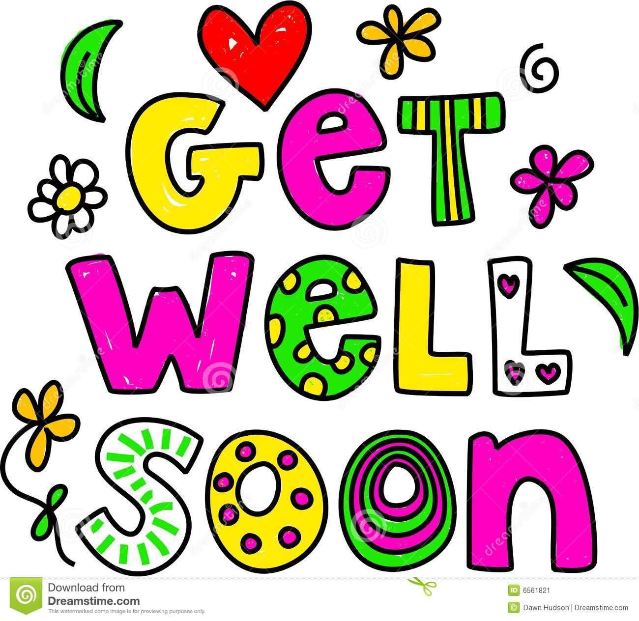 Attractive Get Well Clipart.