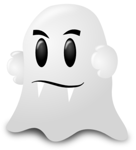 Cartoon Ghost Clip Art at Clker.com.