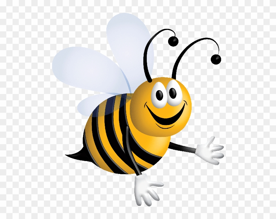 Cartoon Honey Bee Clip Art.
