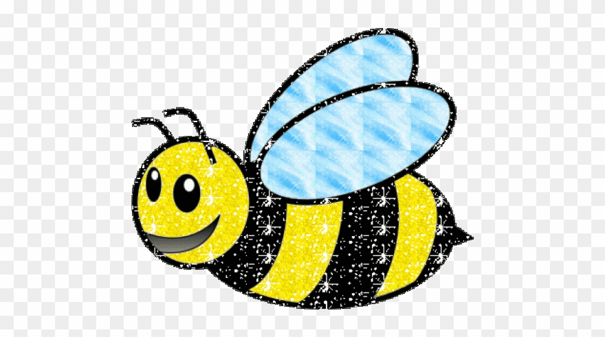 Bee Clipart Gif Animation.