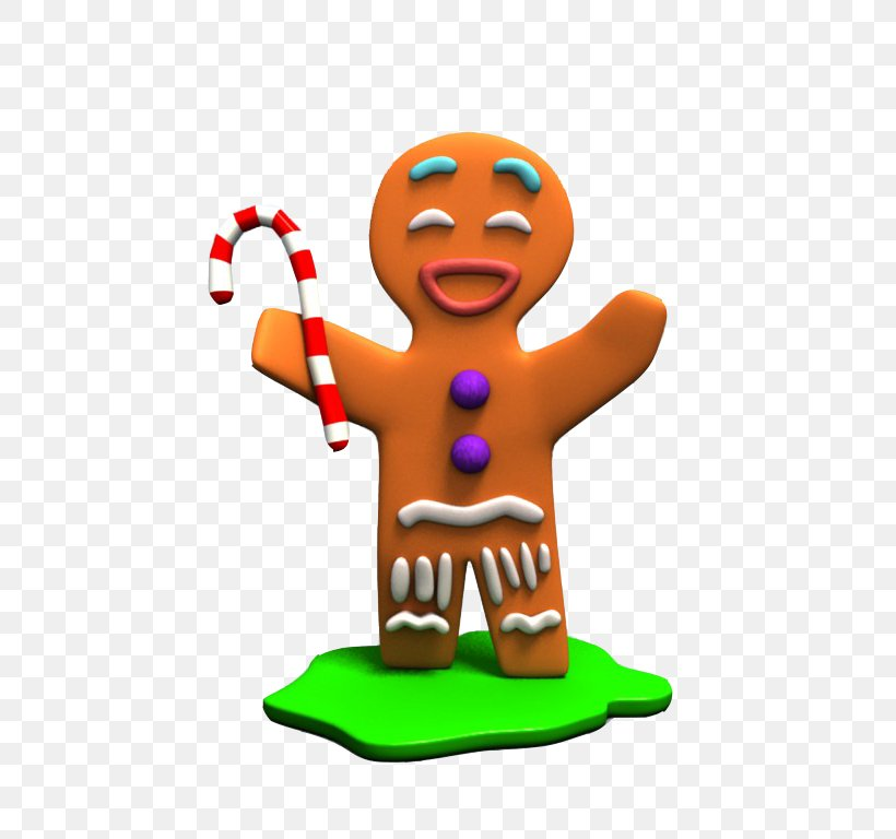 Gingy Gingerbread Man Shrek Pryanik Animated Film, PNG.