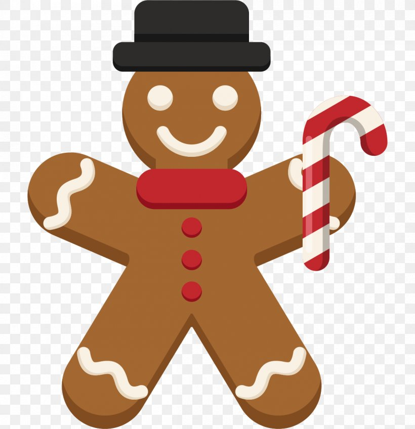 The Gingerbread Man Christmas Day Image, PNG, 1200x1242px.