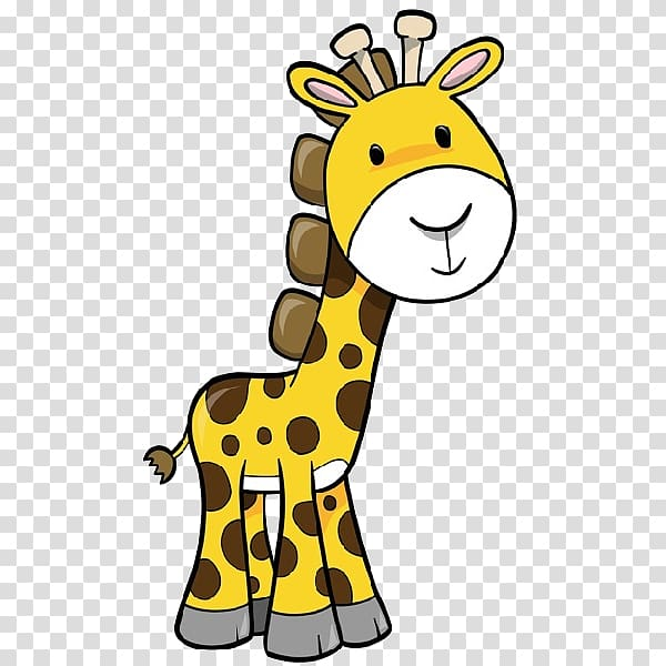 Baby Giraffes , giraffe cartoon transparent background PNG.