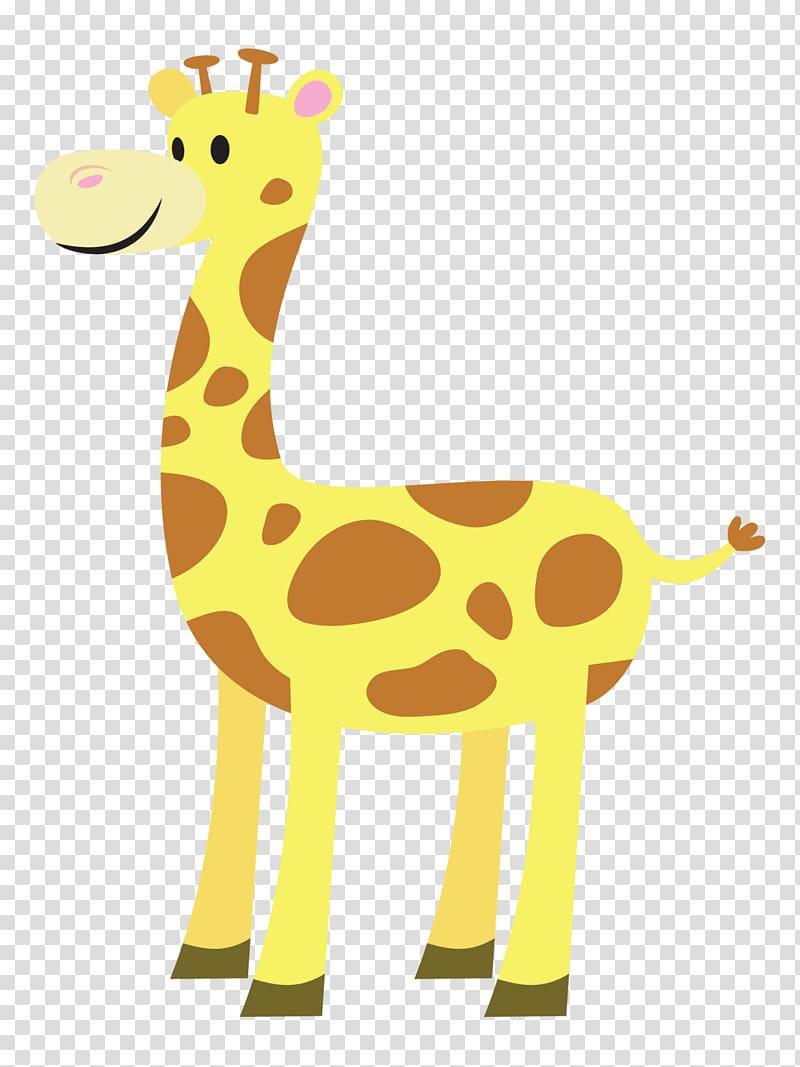 Baby Giraffes West African giraffe Free content , Animated.