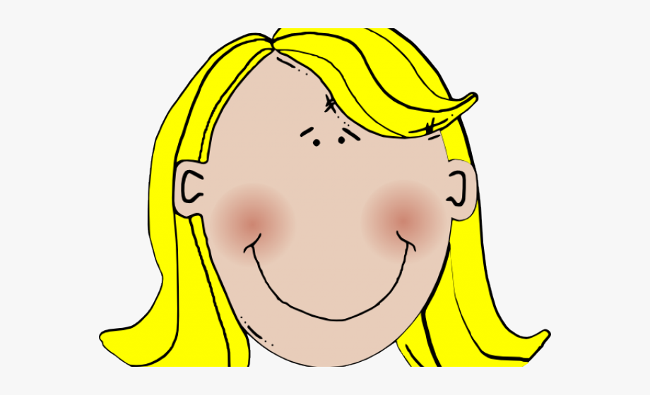 Blonde Girl Png.