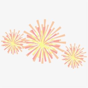 Fireworks Clipart Glitter.