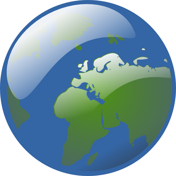 Planets clipart animated globe, Planets animated globe.