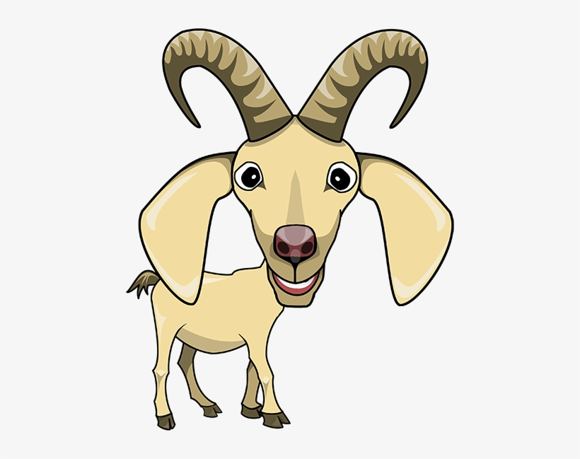 Goats Head Clipart Animated.